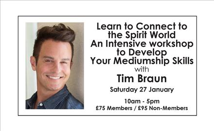 Learn to Connect to the Spirit World An Intensive workshop to Develop Your Mediumship Skills