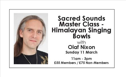 Sacred Sounds Master Class - Himalayan Singing Bowls