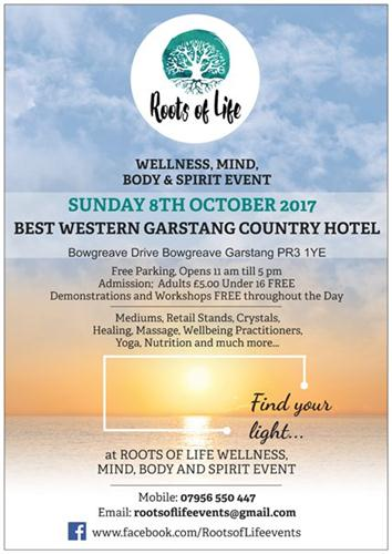 Roots of Life Mind Body & Spirit Event
