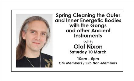 Spring Cleaning the Outer and Inner Energetic Bodies with the Gongs and other Ancient Instruments