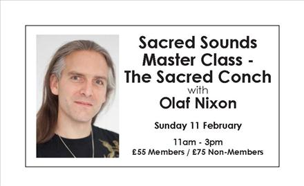 Sacred Sounds Master Class - The Sacred Conch