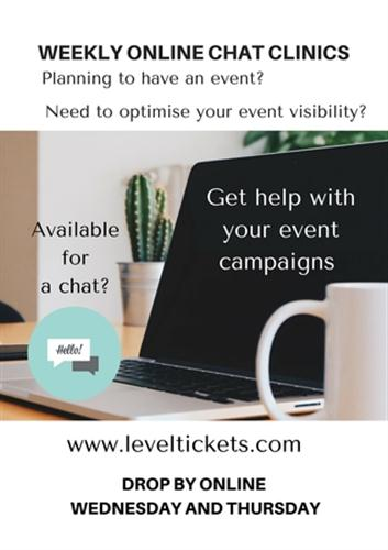 LevelUp Online Worship & Conference Events Chat