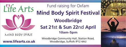 Woodbridge Mind Body Spirit Festival 2018