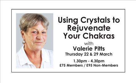 Using Crystals to Rejuvenate Your Chakras - Part 1, (Part 2 on 29 Mar)