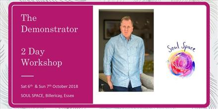 The Demonstrator - 2 Day WORKSHOP with Tony Stockwell
