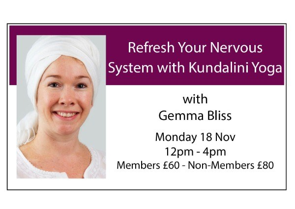 Refresh Your Nervous System with Kundalini Yoga