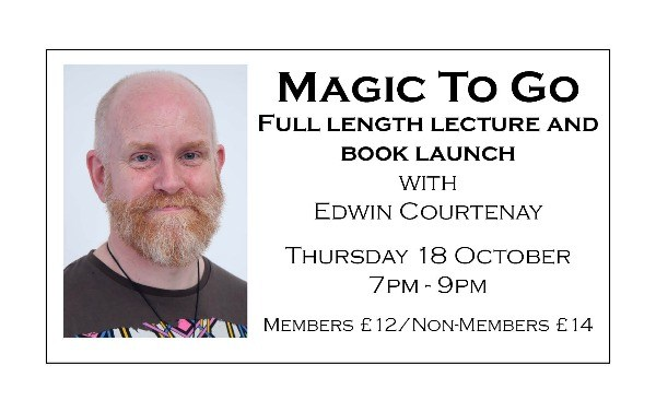 Magic to Go - full length talk followed by the launch of Edwin's new book