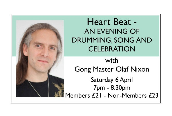 Heart Beat - AN EVENING OF DRUMMING, SONG AND CELEBRATION = APR