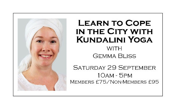 Learn to Cope in the City  with Kundalini Yoga