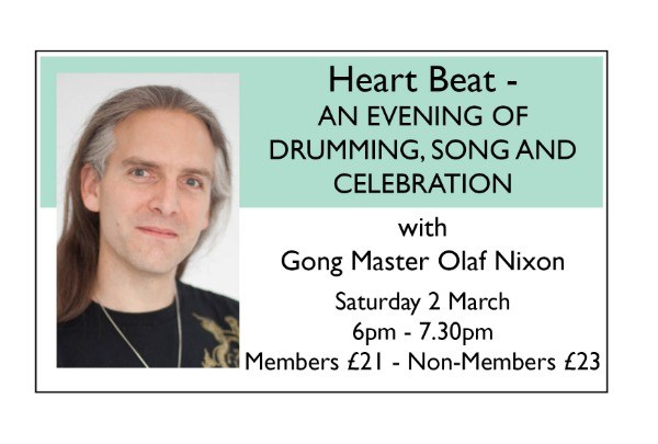 Heart Beat - AN EVENING OF DRUMMING, SONG AND CELEBRATION - Mar