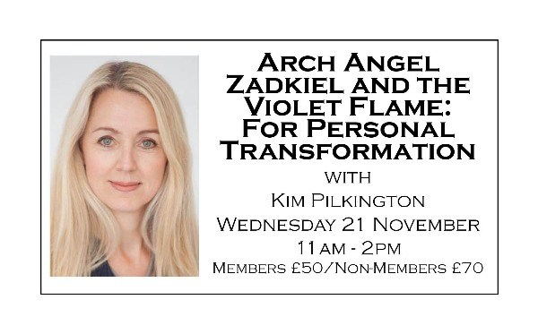 Arch Angel Zadkiel and the Violet Flame: For Personal Transformation