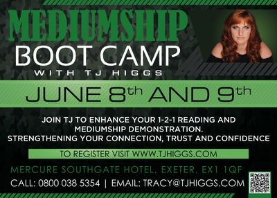 Mediumship Bootcamp with Tracy Higgs