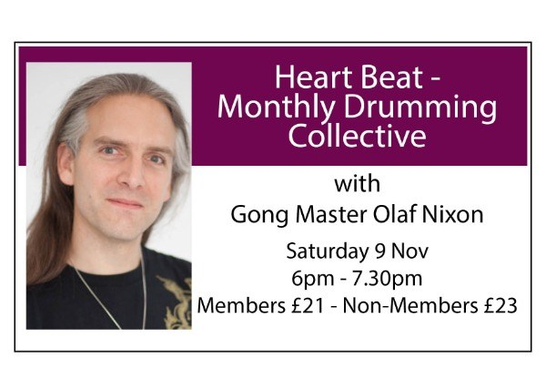 Heart Beat - Monthly Drumming Collective - November