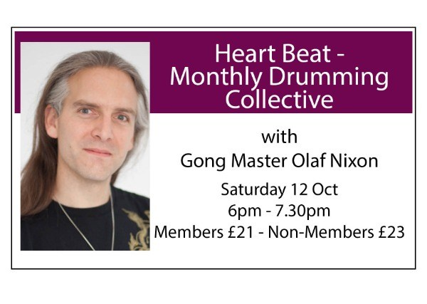 Heart Beat Monthly Drumming Collective - October