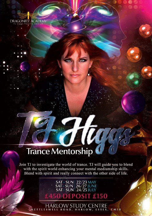 Trance Mentorship Course with TJ Higgs -  22nd May 2021 to 25th July 2021 - Six Classes