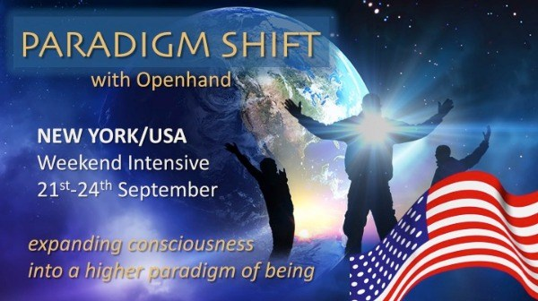 PARADIGM SHIFT: Weekend Retreat, NEW YORK/USA, 21st/24th Sep