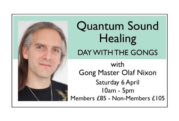 Quantum Sound Healing Day with the Gongs
