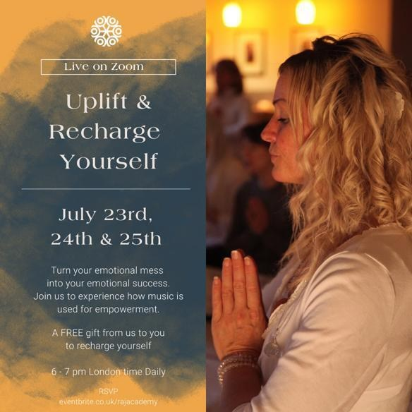 How to Uplift and Recharge Yourself Through Sound!