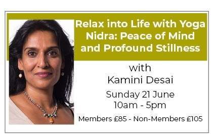 Relax into Life with Yoga Nidra - RESTORE PEACE OF MIND AND PROFOUND STILLNESS
