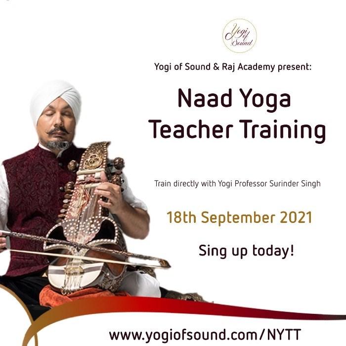 Naad Yoga Teacher Training - online