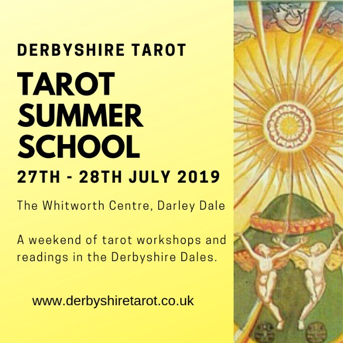 DERBYSHIRE TAROT SUMMER SCHOOL 2019
