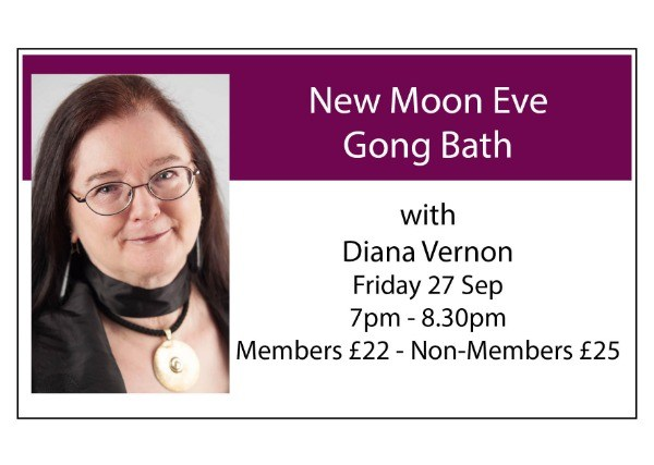 New Moon Eve Gong Bath