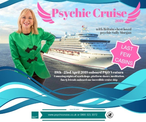 Psychic Cruise with Sally Morgan