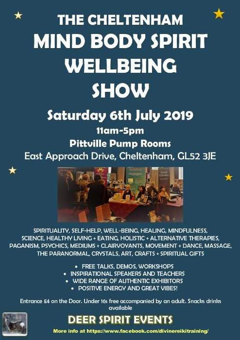 The Cheltenham Mind Body Spirirt Wellbeing Show