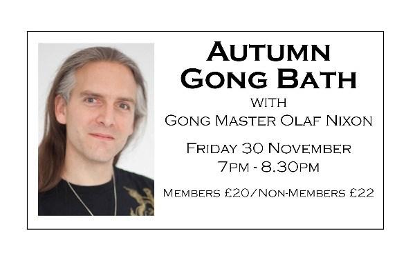Autumn Gong Bath