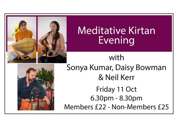 Meditative Kirtan Evening
