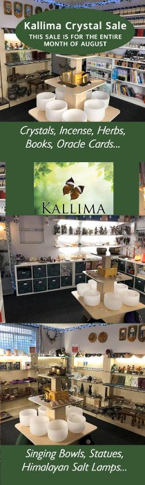 Kallima Crystal Sale - ENTIRE MONTH OF AUGUST - Basildon, Essex