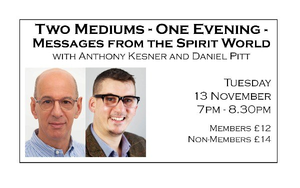 Two Mediums - One Evening - Messages from the Spirit World