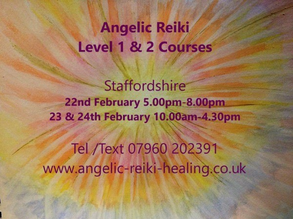 Angelic Reiki Level 1&2 Training