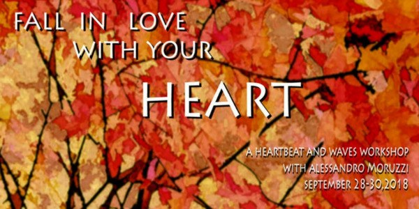 FALL IN LOVE WITH YOUR HEART- 5RHYTHMS WORKSHOP IN THE GORGE