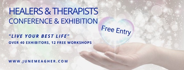 Free entry to Healers & Therapists Conference & Exhibition
