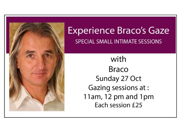 Experience Braco's Gaze: Special Small Intimate Sessions - 11am