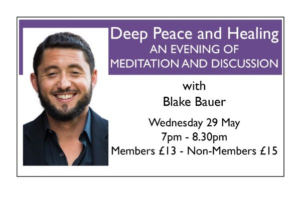 Deep Peace and Healing: An Evening of Meditation and Discussion