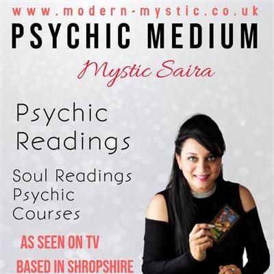 Mystic Saira - Psychic readings and spiritual development courses